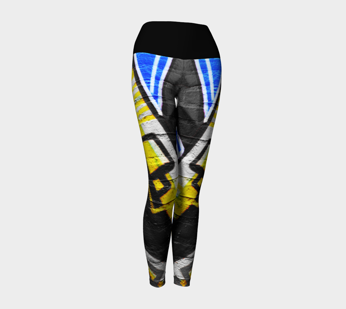 Graffiti 6 Yoga Leggings preview #1