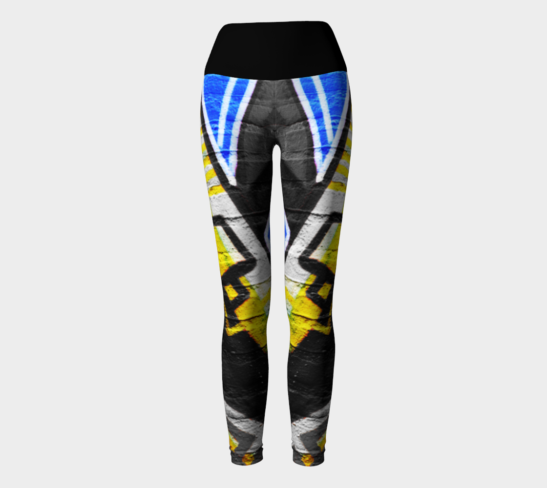Graffiti 6 Yoga Leggings preview #2