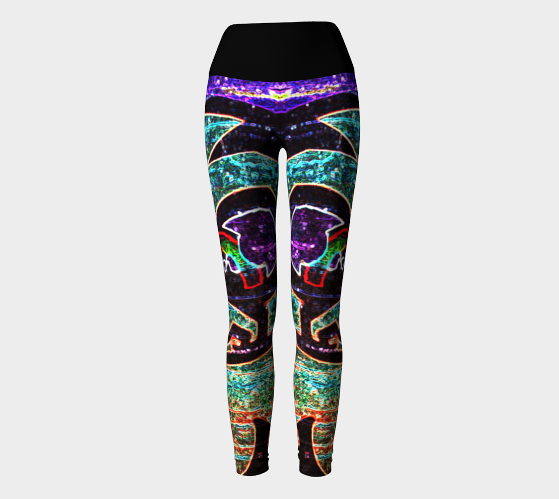 Graffiti 7 Yoga Leggings preview