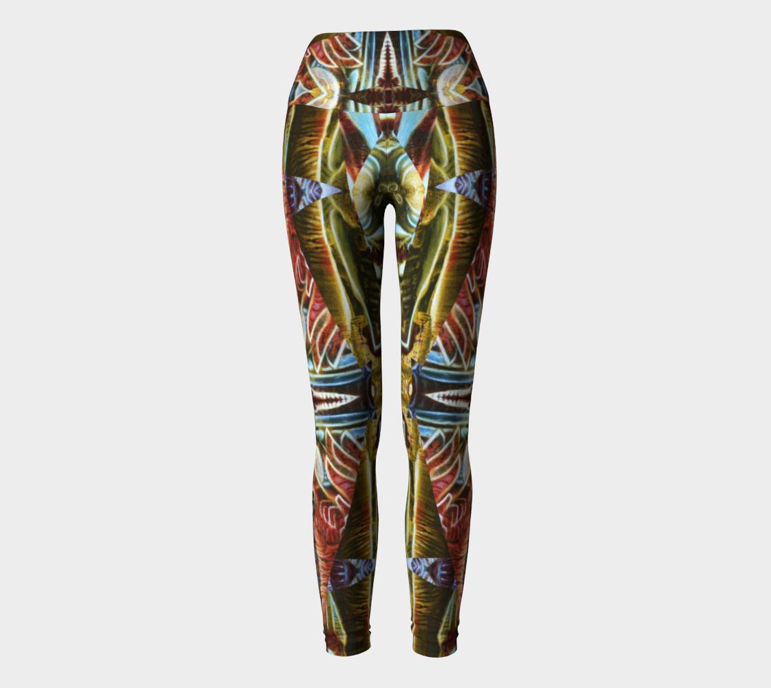 Winged Yoga Leggings preview