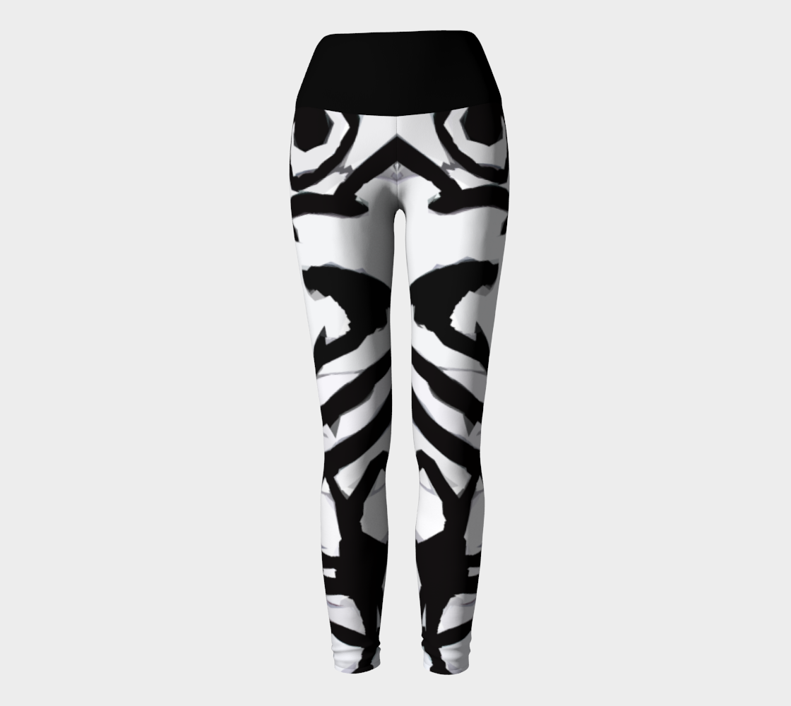 Graffiti 16 Yoga Leggings preview