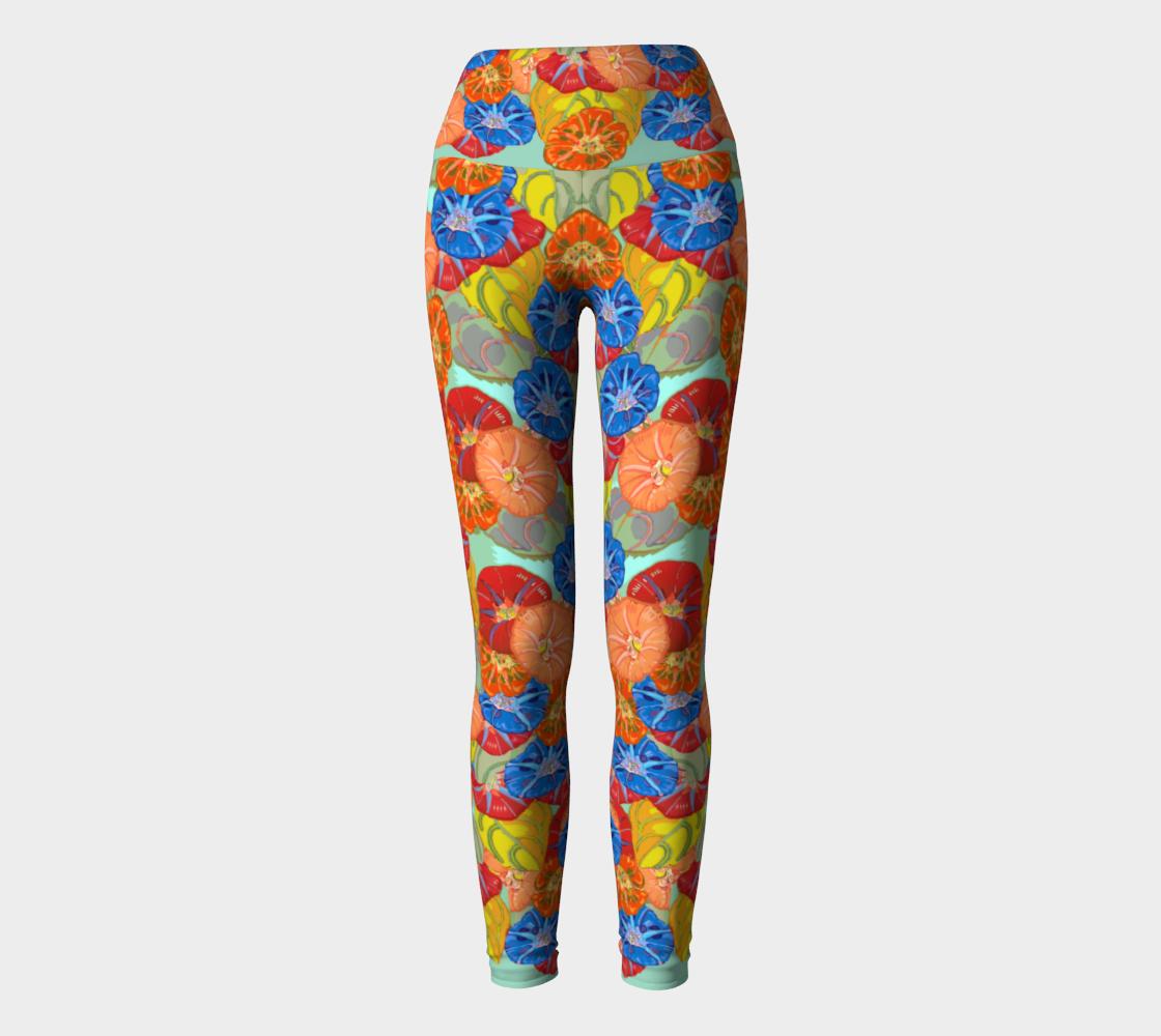 Hot Floral Yoga Leggings preview