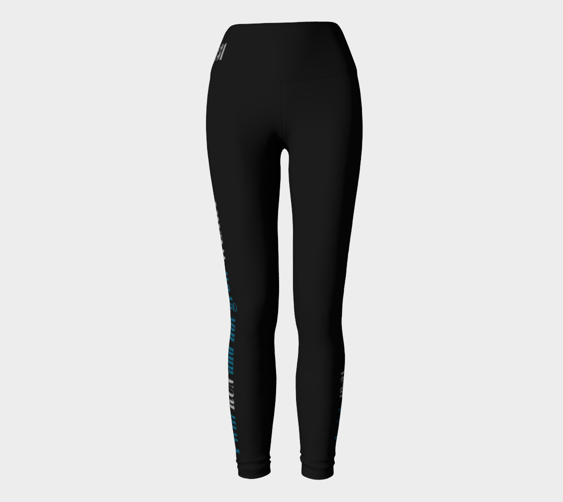 I will run and not grow wear leggings preview