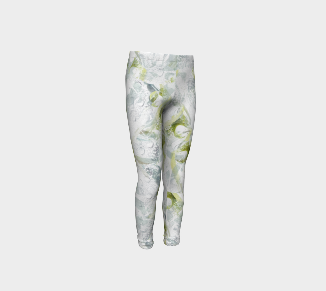 Spring Equinox Youth Leggings by Laura Davis Art Studio preview