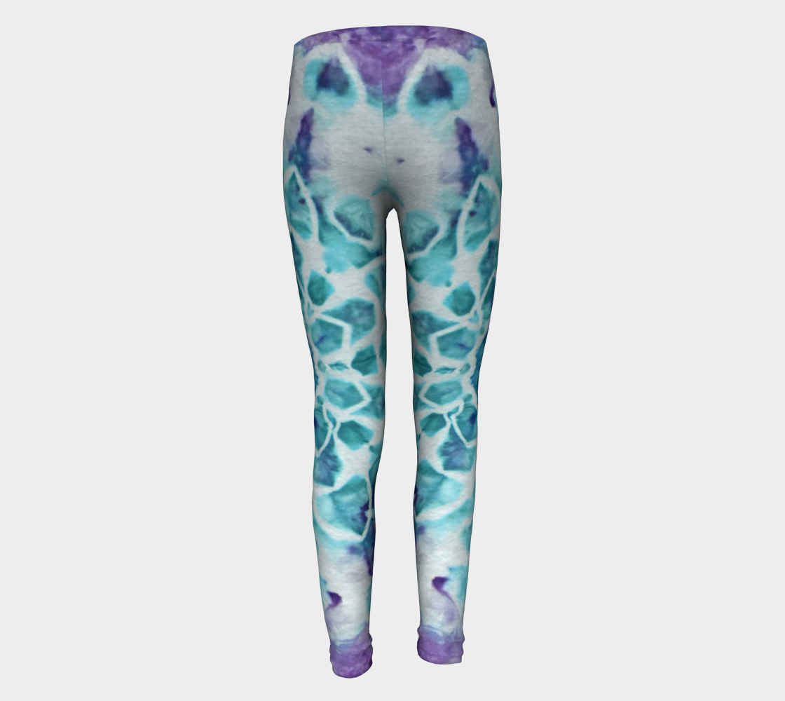 Tabby Star Youth Leggings preview #5