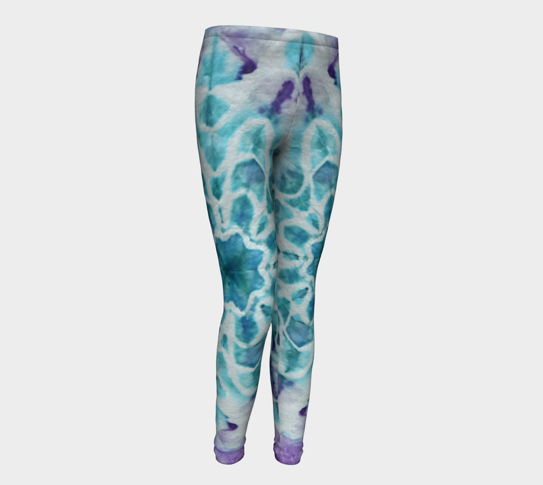 Tabby Star Youth Leggings preview #1