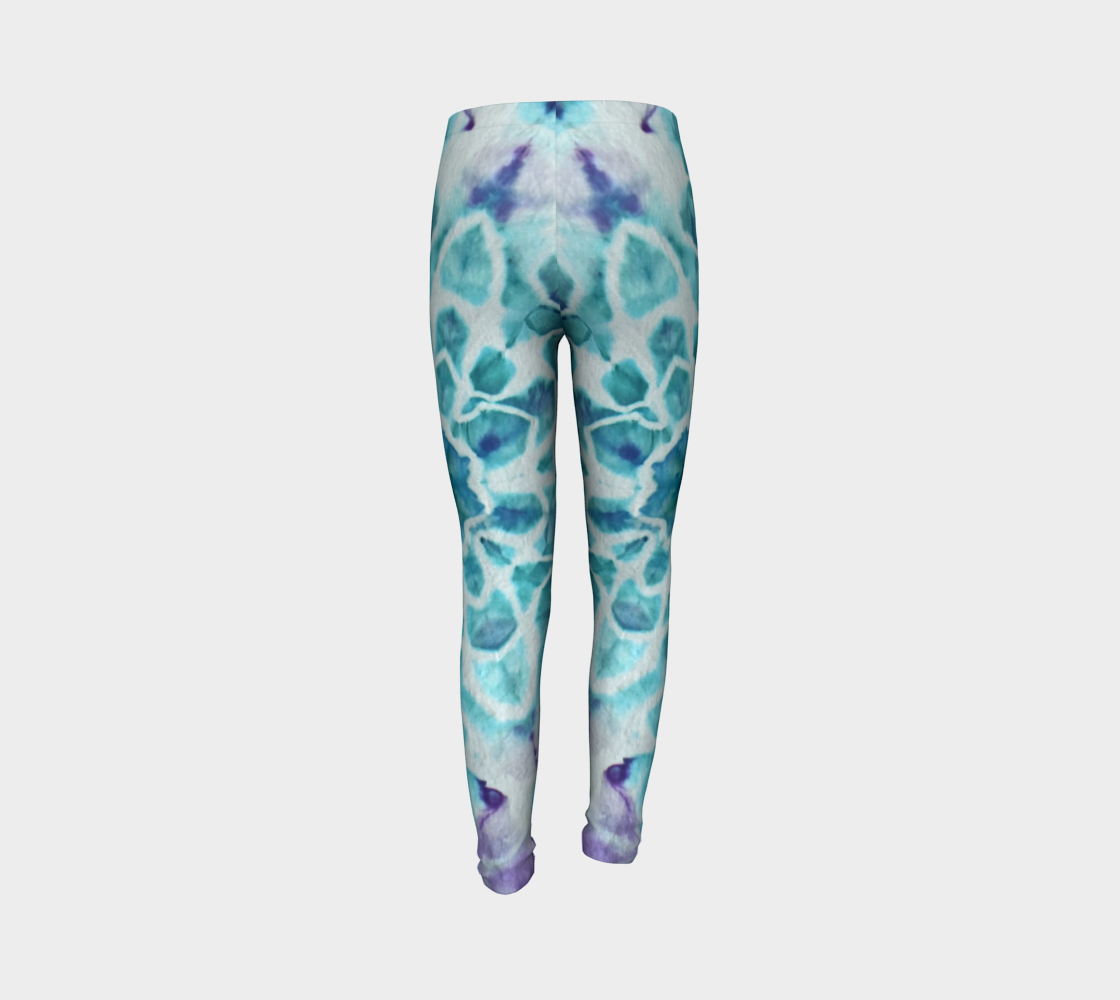 Tabby Star Youth Leggings preview #7