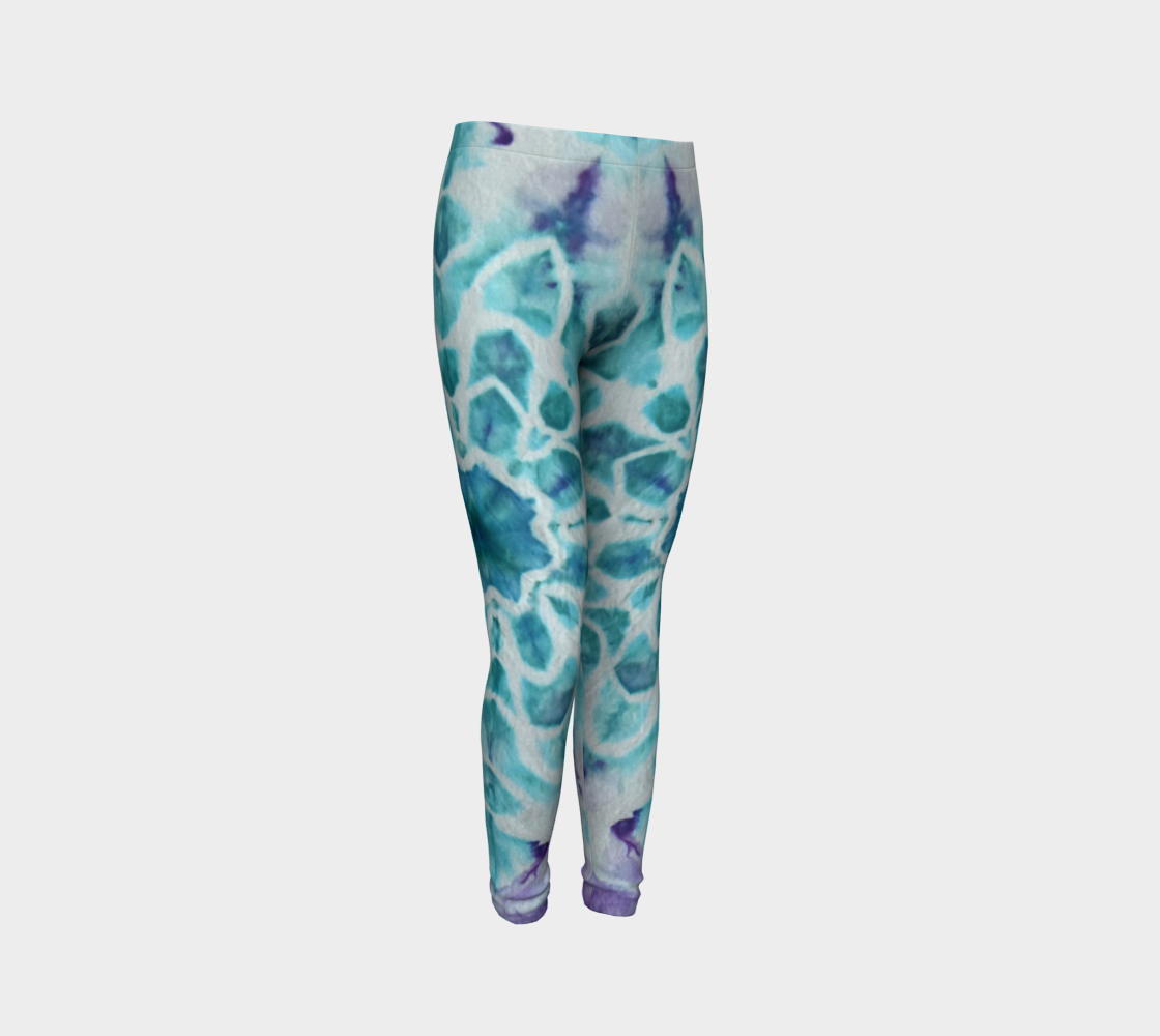 Tabby Star Youth Leggings preview #3