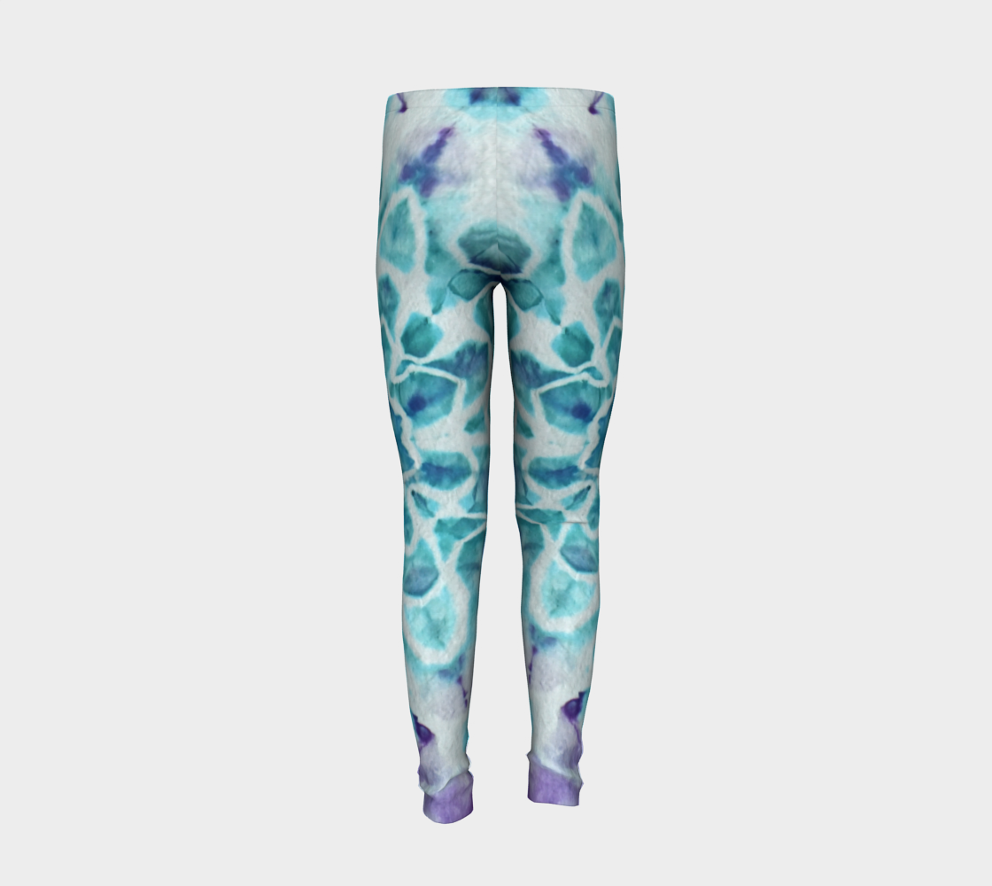 Tabby Star Youth Leggings preview #6