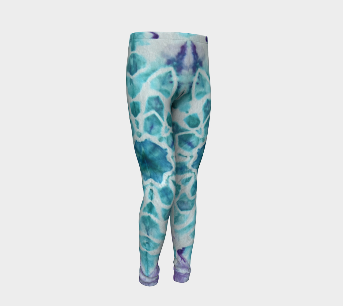 Tabby Star Youth Leggings preview #2