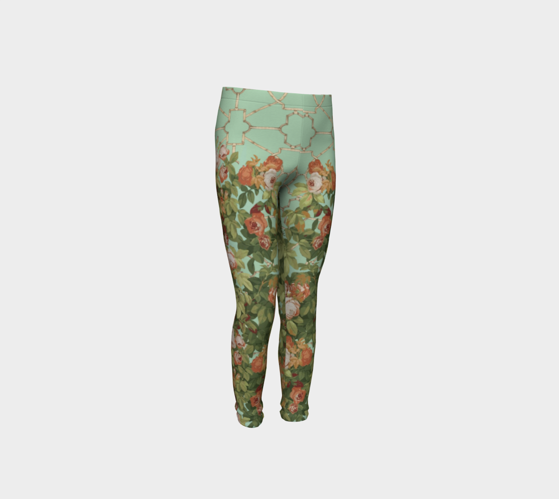 Roses Youth Leggings preview