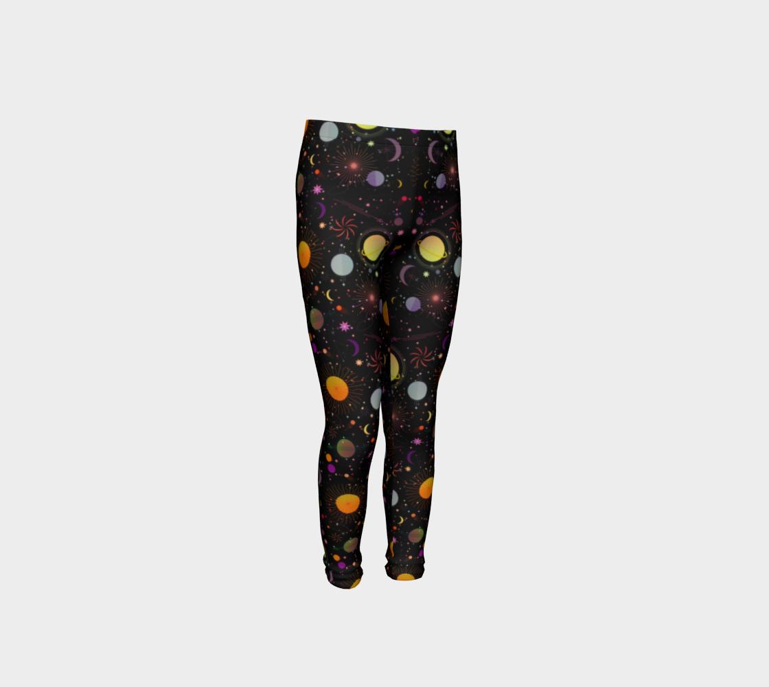 Aperçu de Galaxy cosmos yoga leggings