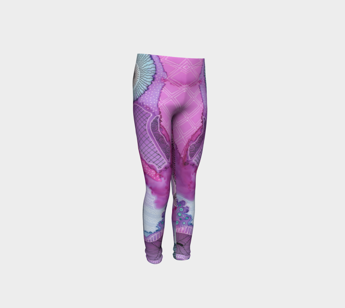 Youth Leggings, Sea Anemone preview