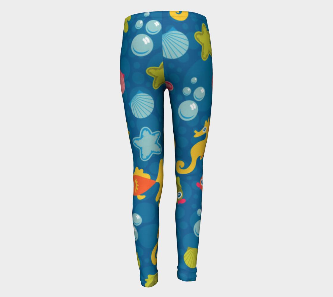 Sea Life Kid Leggings preview #5