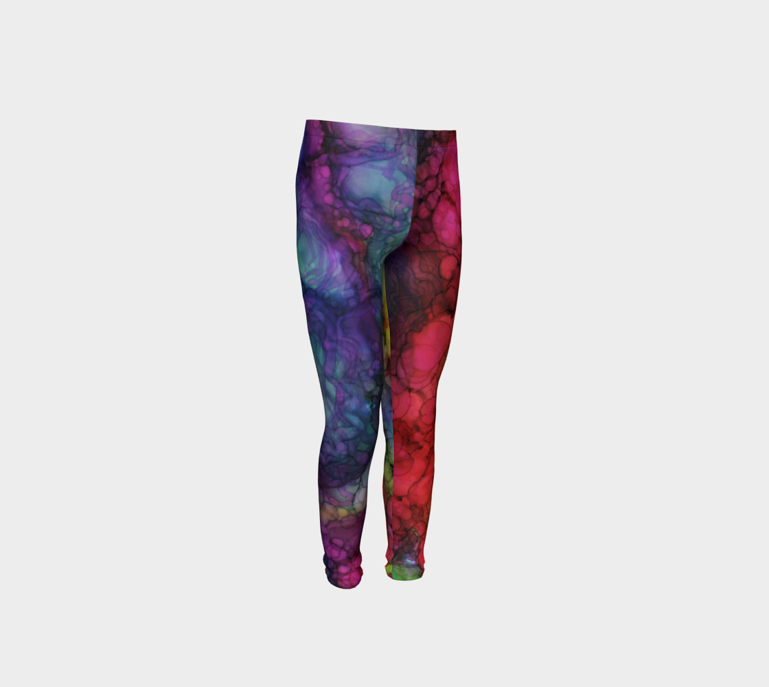 In Rainbows Youth Leggings PaminOttawa preview