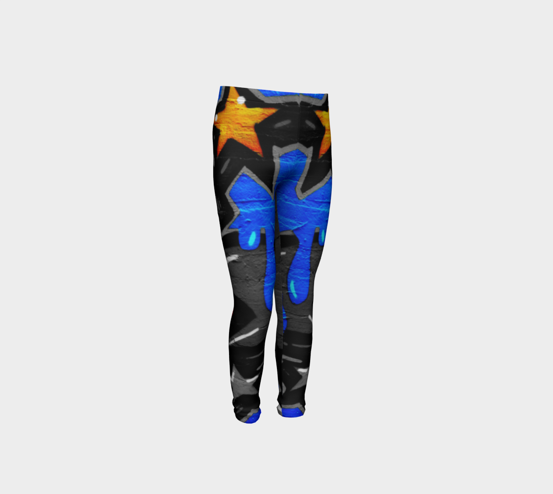 Graffiti 3 Youth Leggings preview