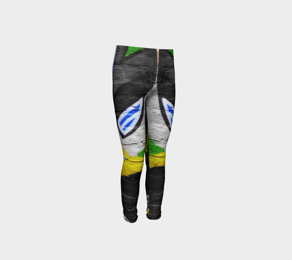Graffiti 6 Youth Leggings preview