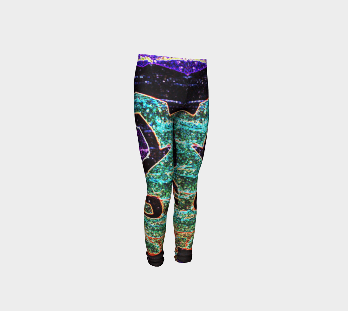 Graffiti 7 Youth Leggings preview