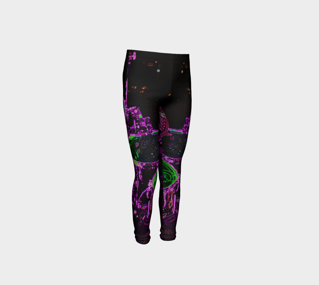 Drums Youth Leggings preview