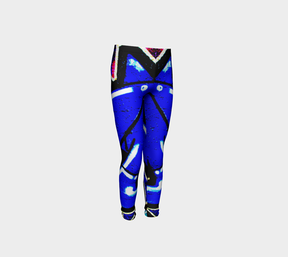 Graffiti 13 Youth Leggings preview
