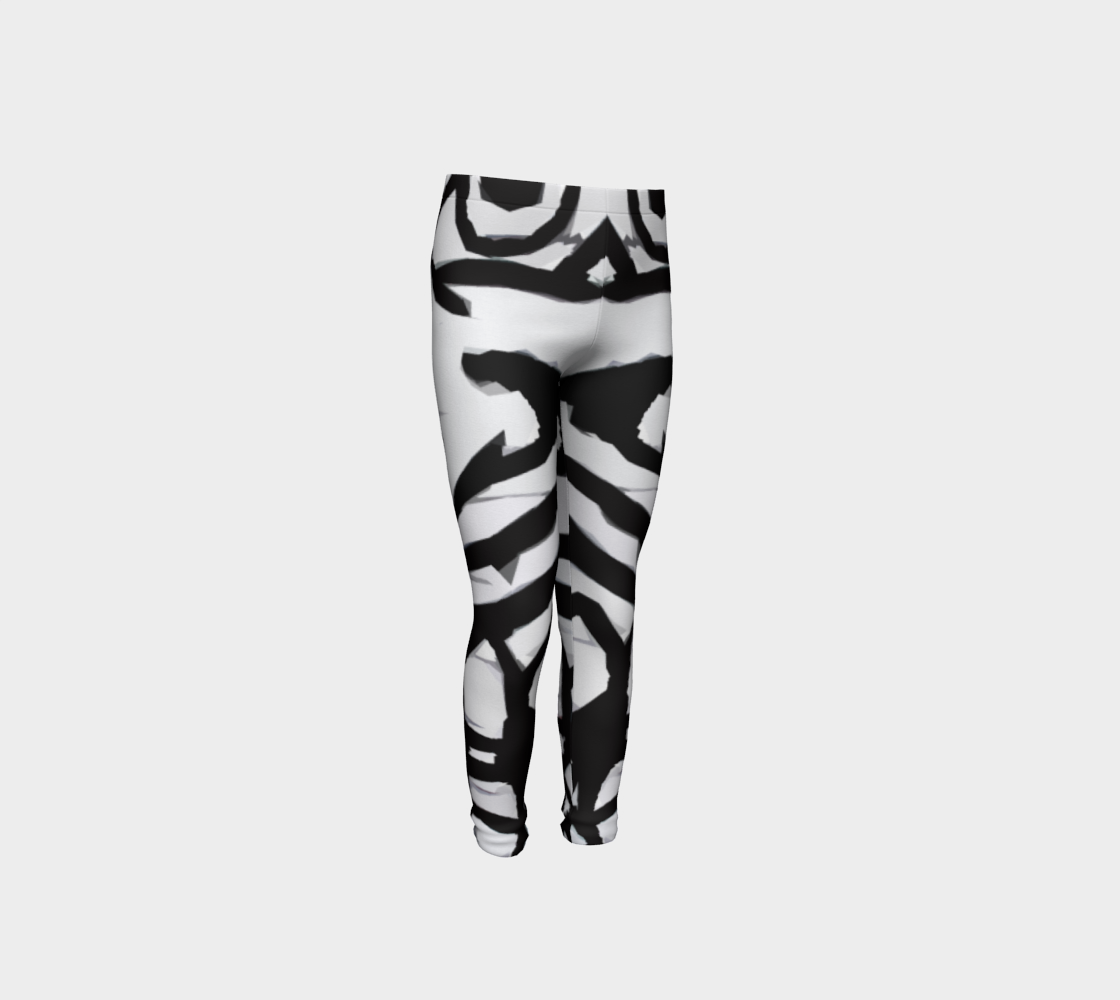 Graffiti 16 Youth Leggings preview