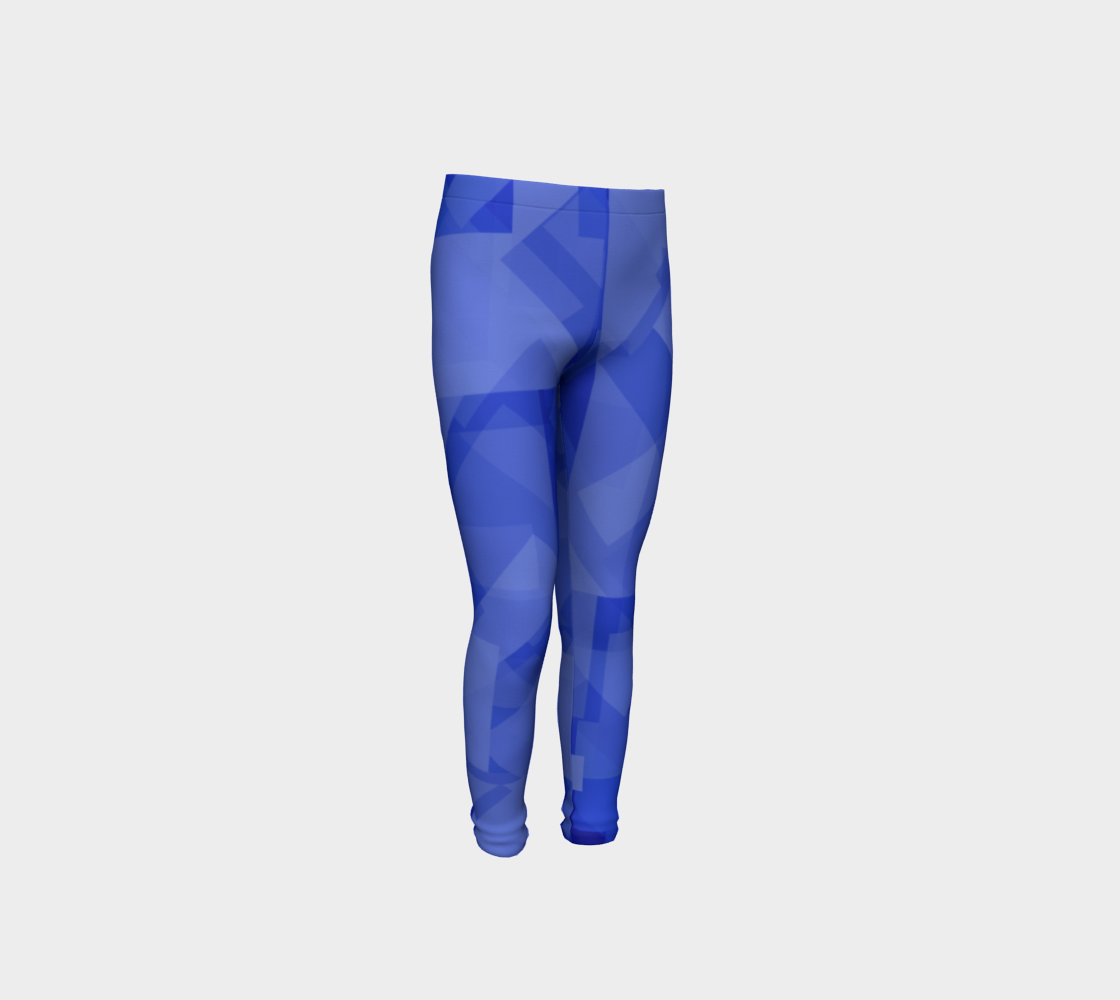 Blue is Better Youth Leggings preview
