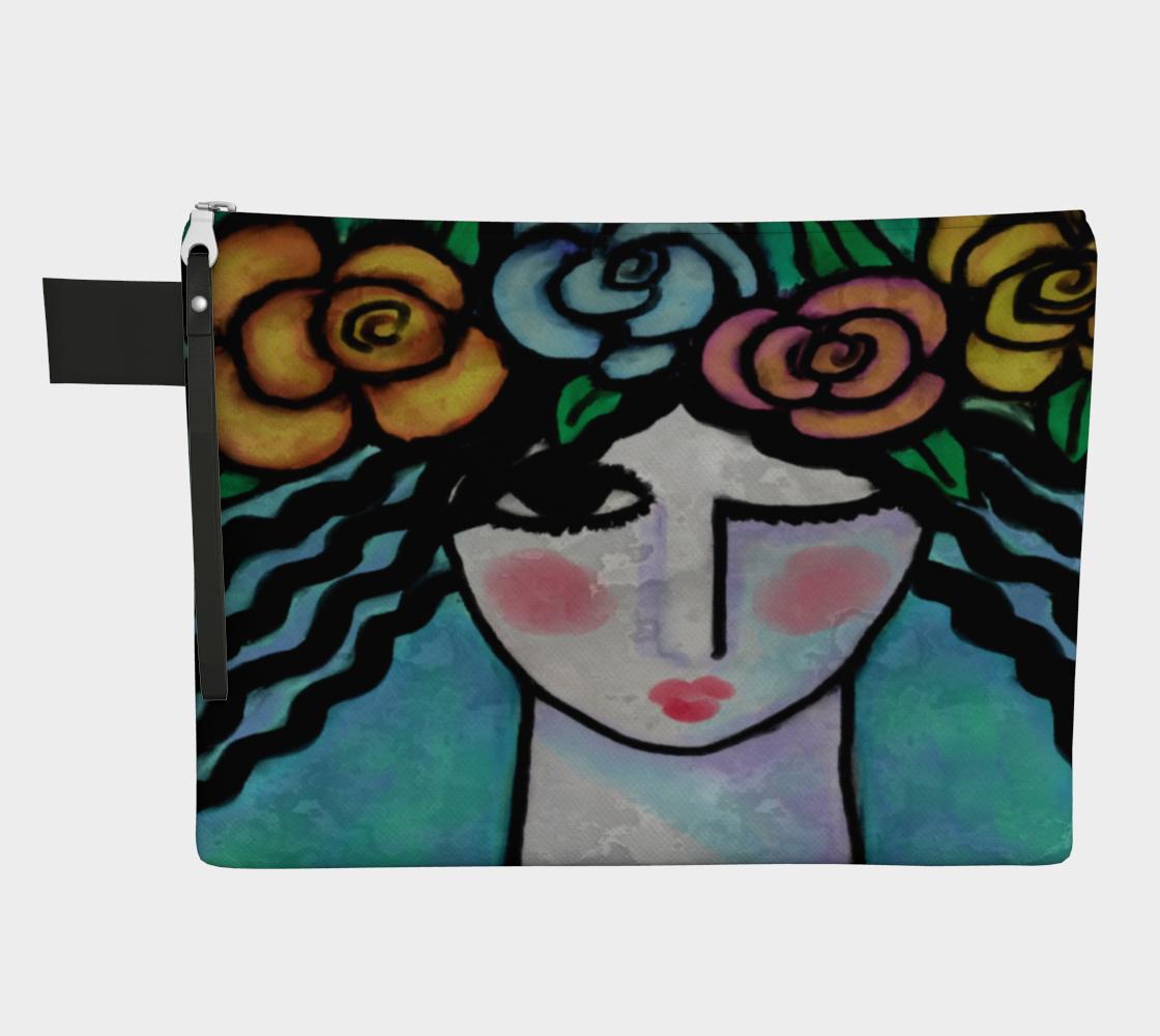 Aperçu de Beautiful Abstract Art Clutch Bag