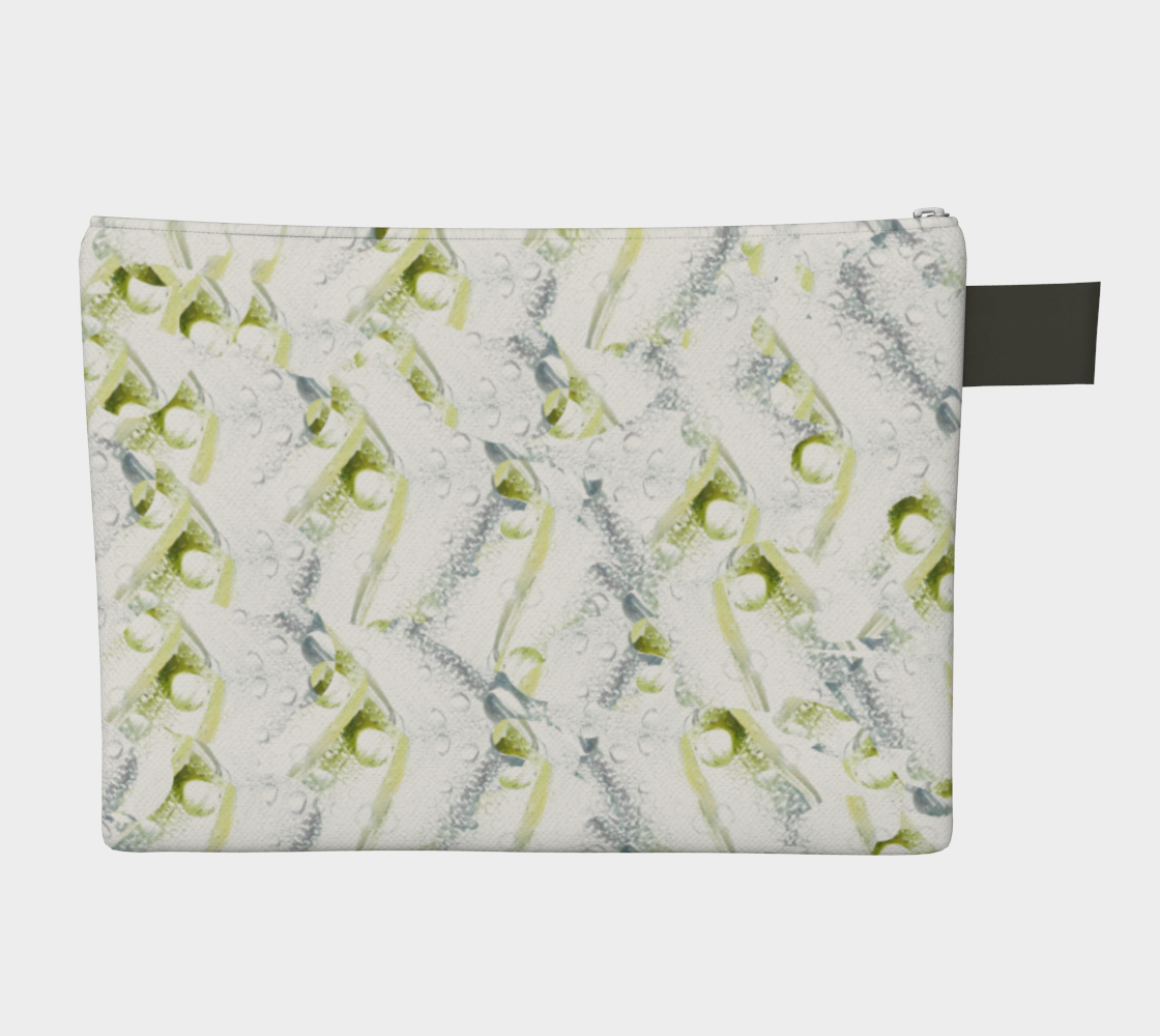 Spring Showers Zipper Carry All by Laura Davis Art Studio preview #2