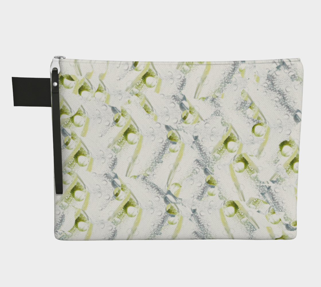 Spring Showers Zipper Carry All by Laura Davis Art Studio preview