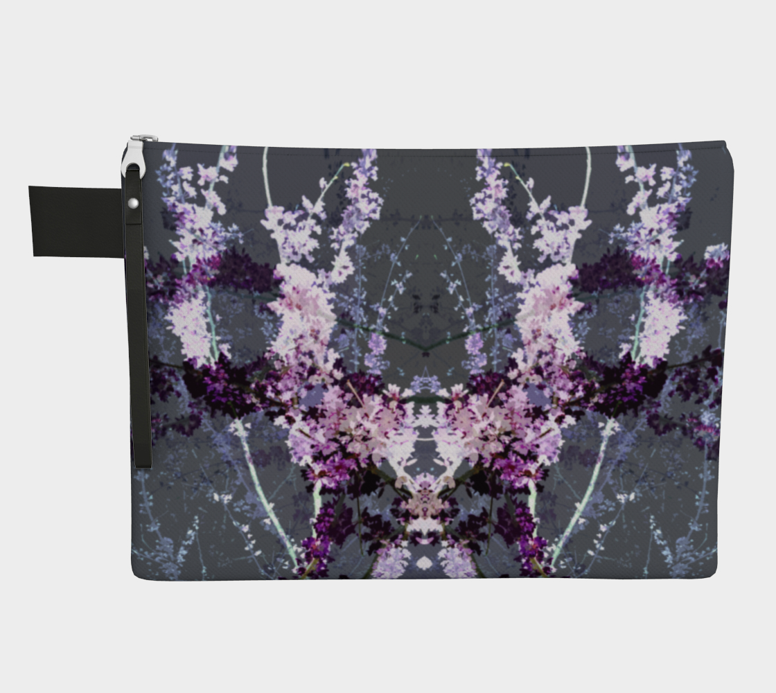 gray floral preview