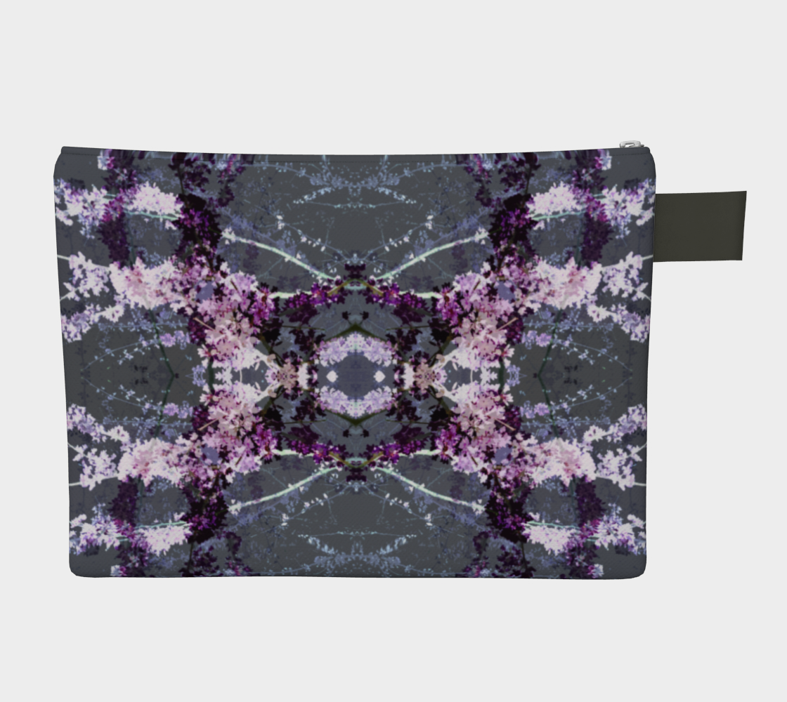 gray floral double preview #2