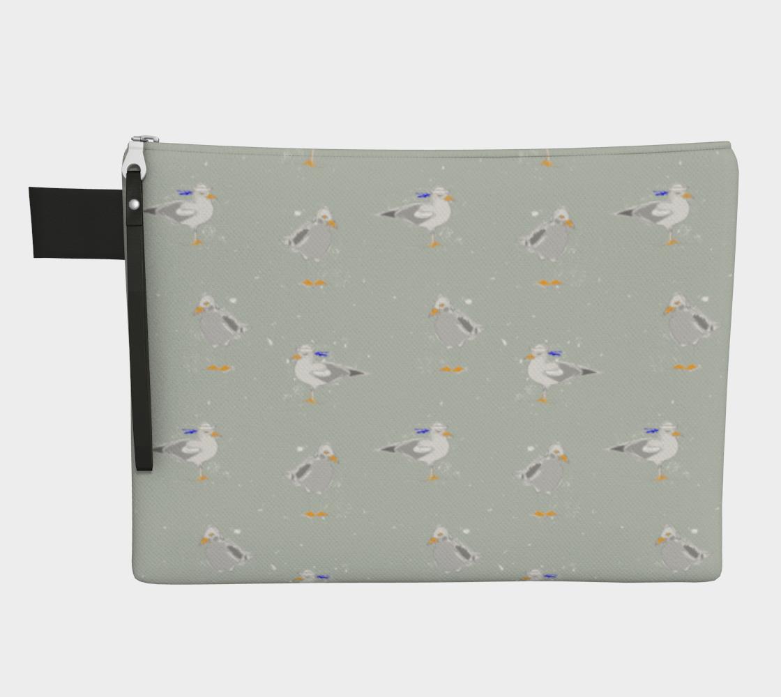 Sailor Seagulls Zipper Carry-All preview