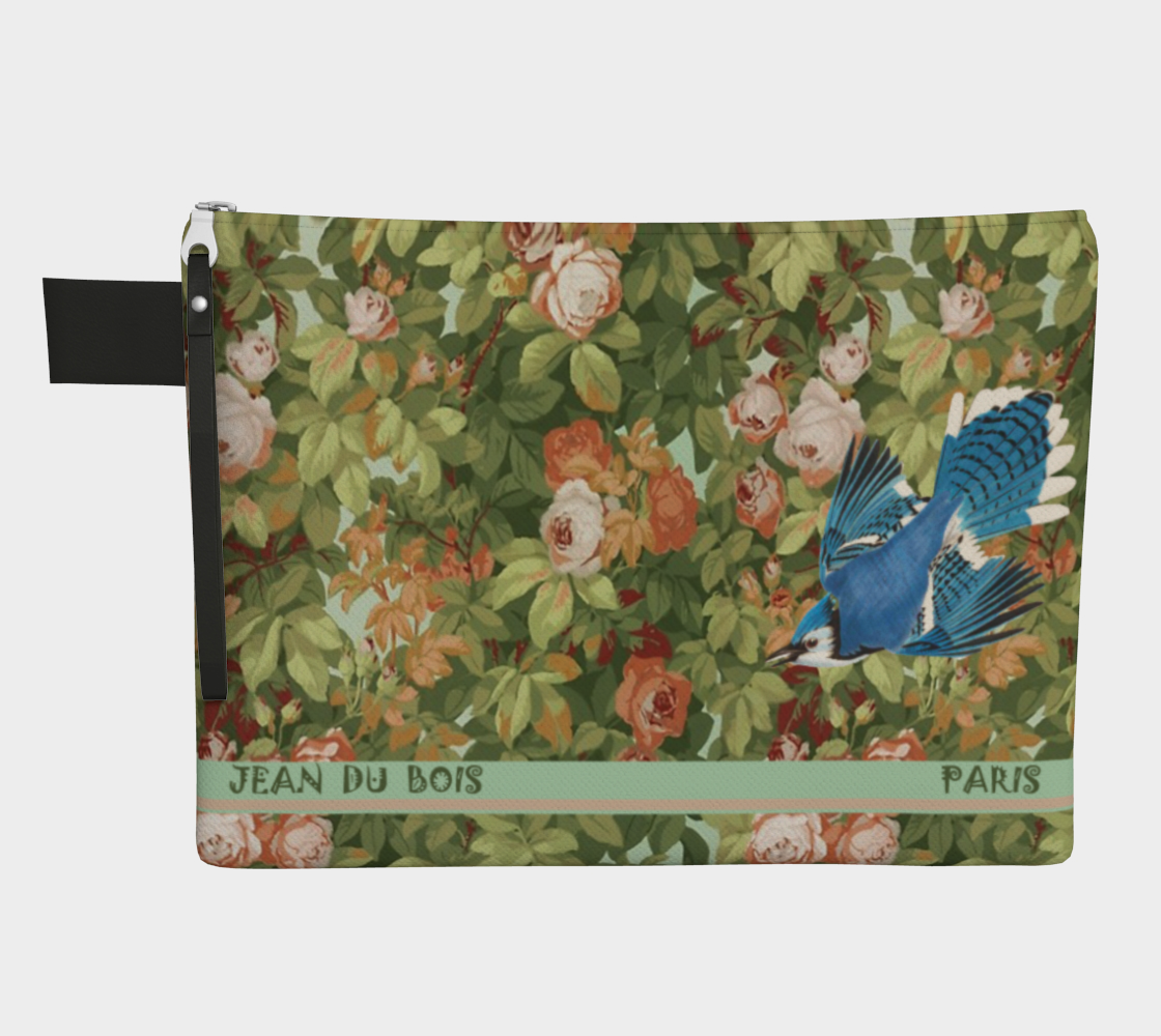 Roses Zipper Carry-All preview