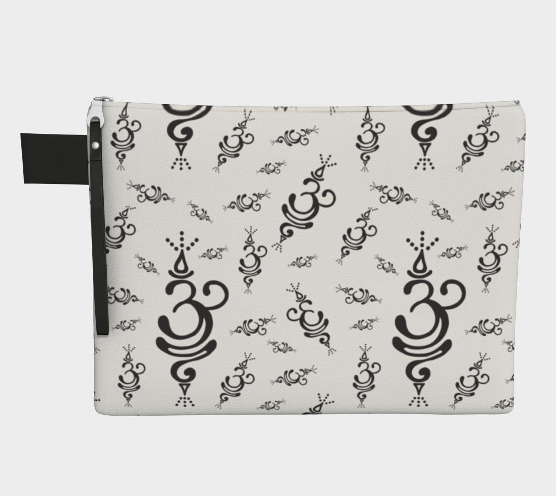 Aperçu de Breathe Symbol Zipper Carry All