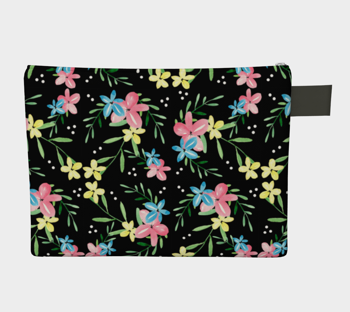 Floral Watercolor Carry-All preview #2