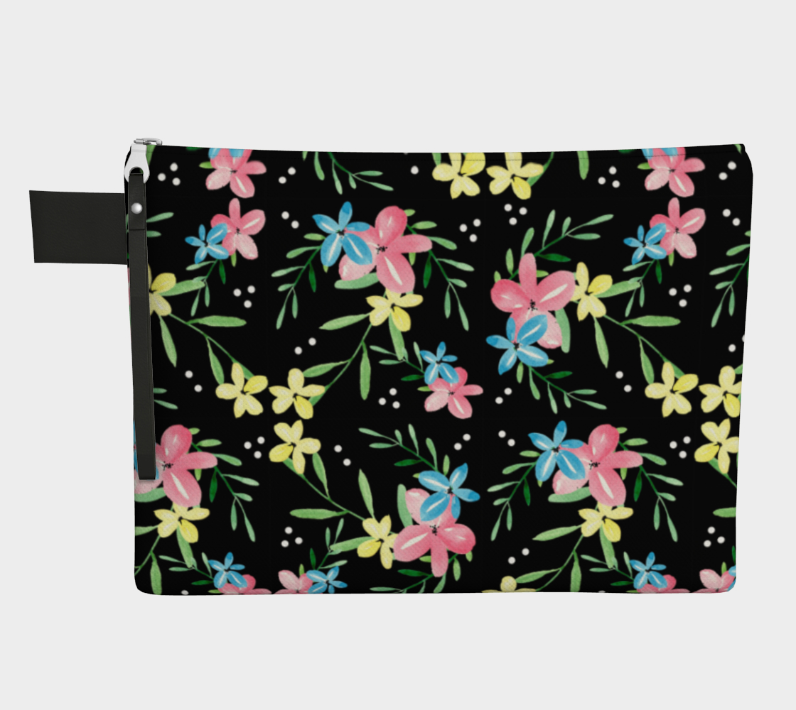 Floral Watercolor Carry-All preview