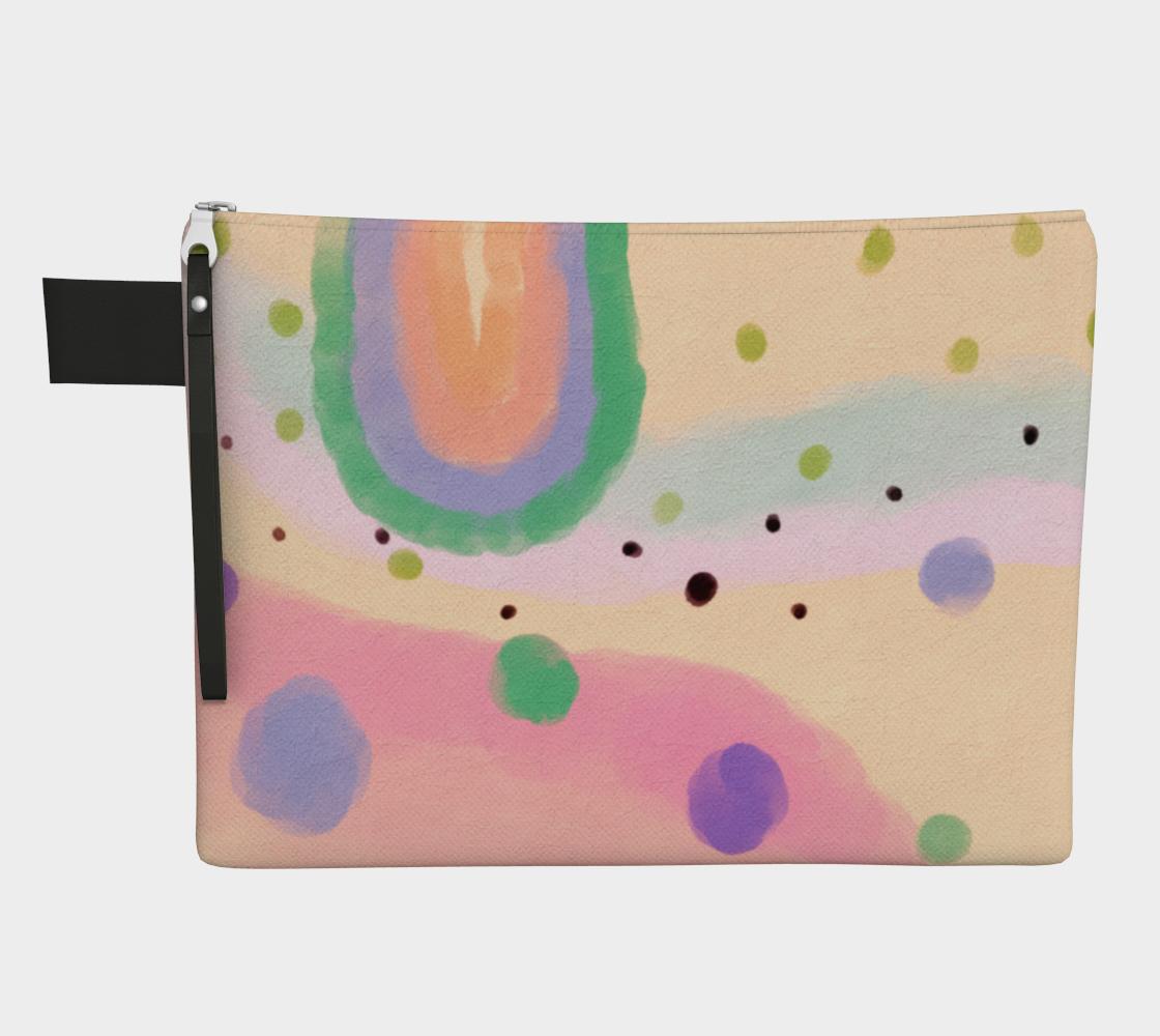 Aperçu de Original Abstract Art Clutch Bag