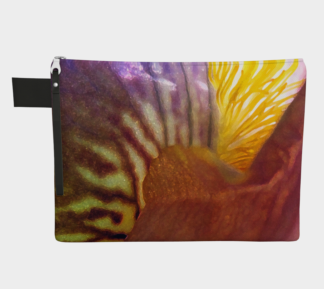 Sunrise Iris Flowerscape 3 Zipper Carry-all preview