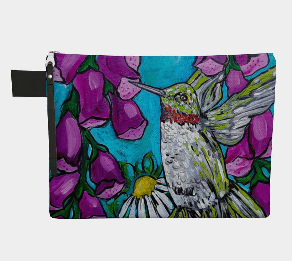 Humming Bird Zipper Carry-All preview