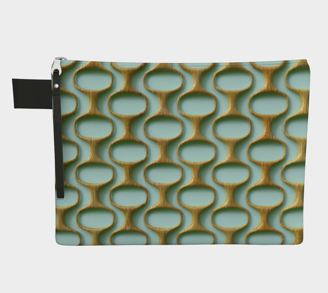 60s mod wooden pattern preview