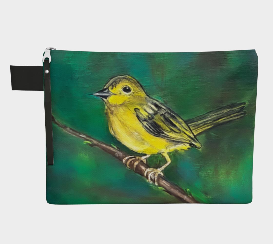 Yellow Bird Zipper Carry-All preview