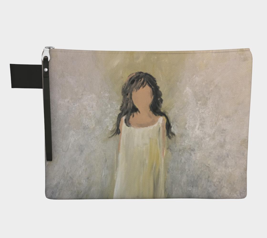 Angel Light Zipper Carry All by Karen Pedevilla preview