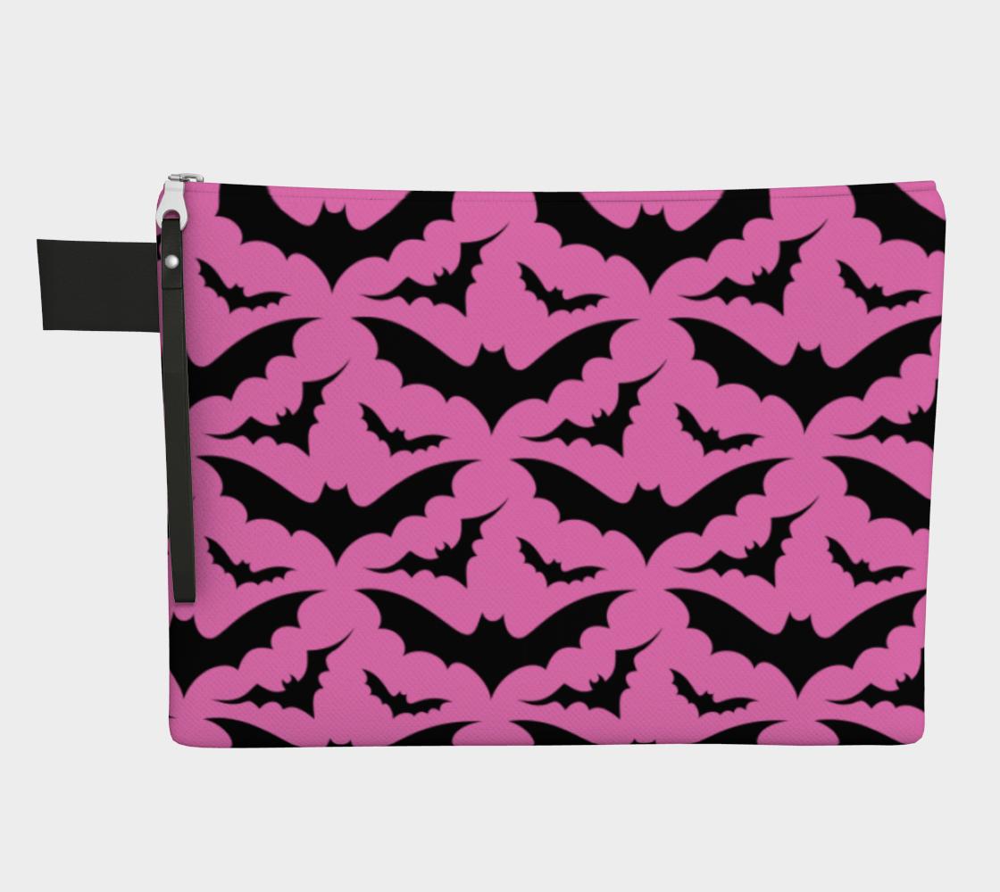 Pink Bats Zip Bag preview