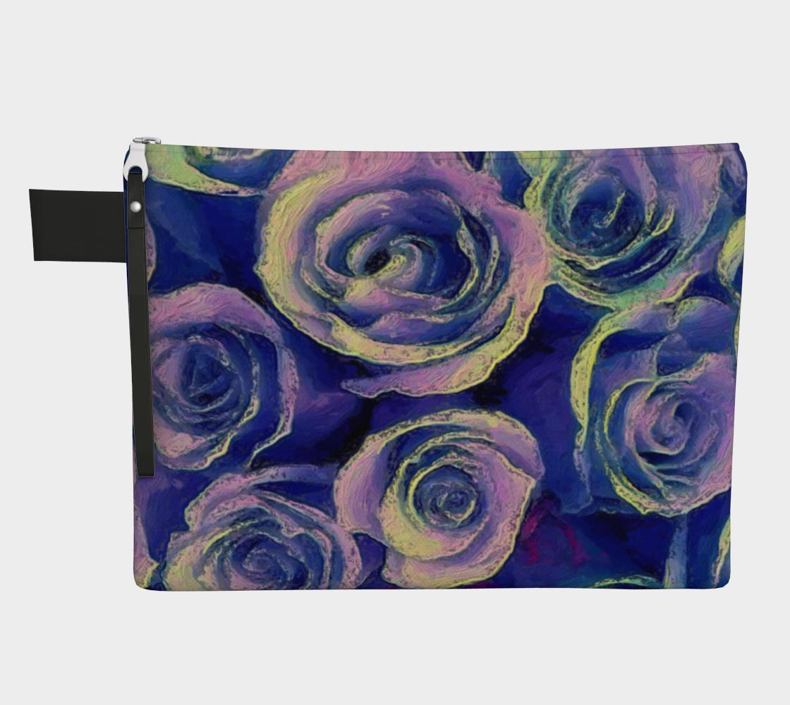 Aperçu de Purple Roses Carry all by Bryan Bromstrup