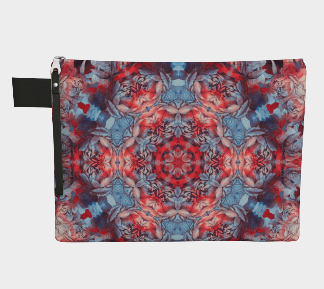 red and blue art #carryall preview