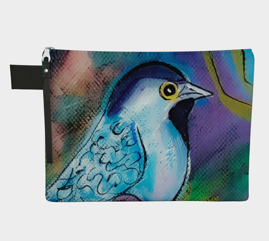 Cheery Chickadee Zipper Carry-All preview
