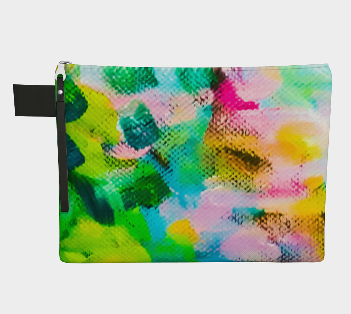 Impressionist Garden Zipper Carry-All preview