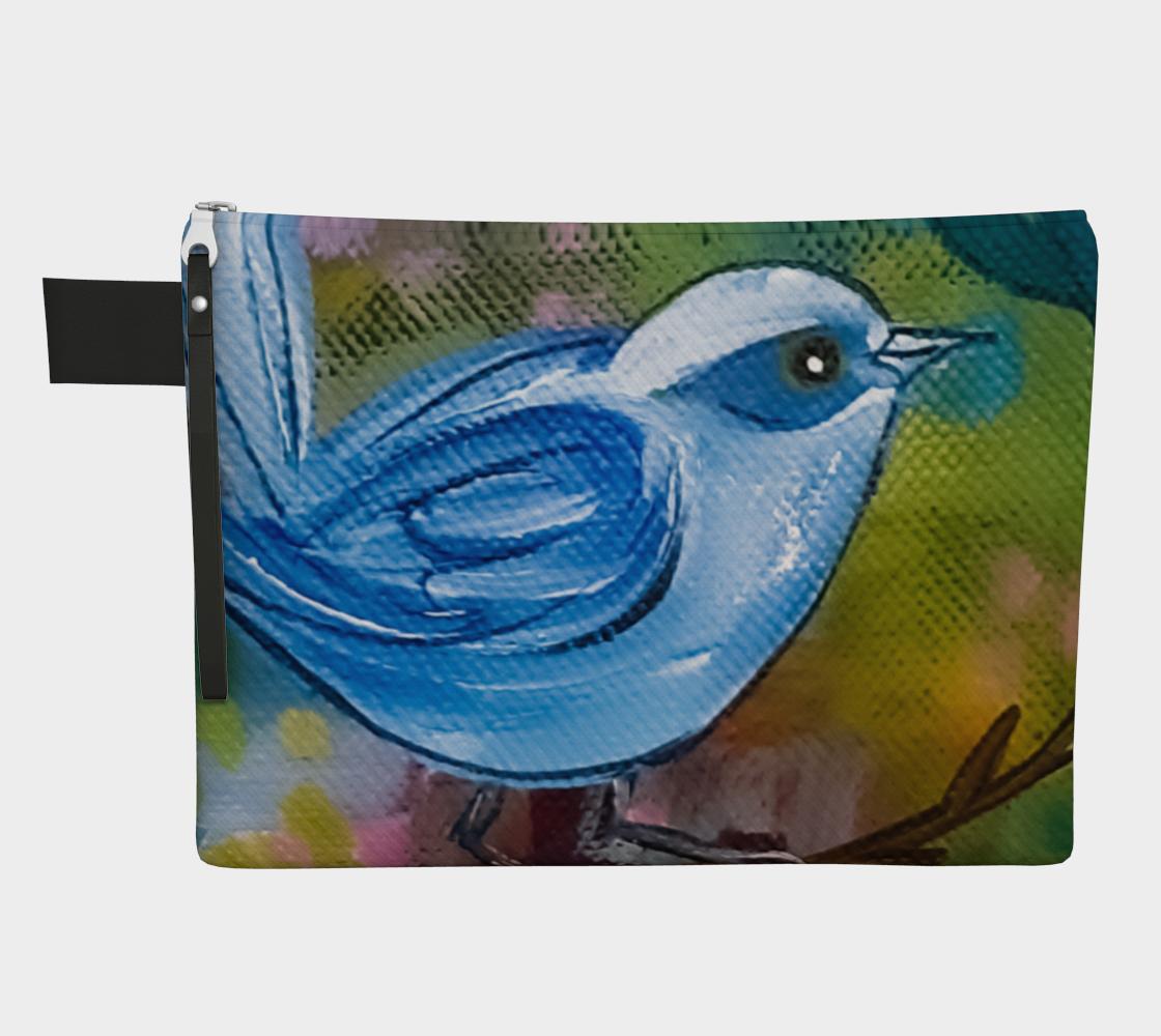 Blue Bird Zipper Carry-All preview