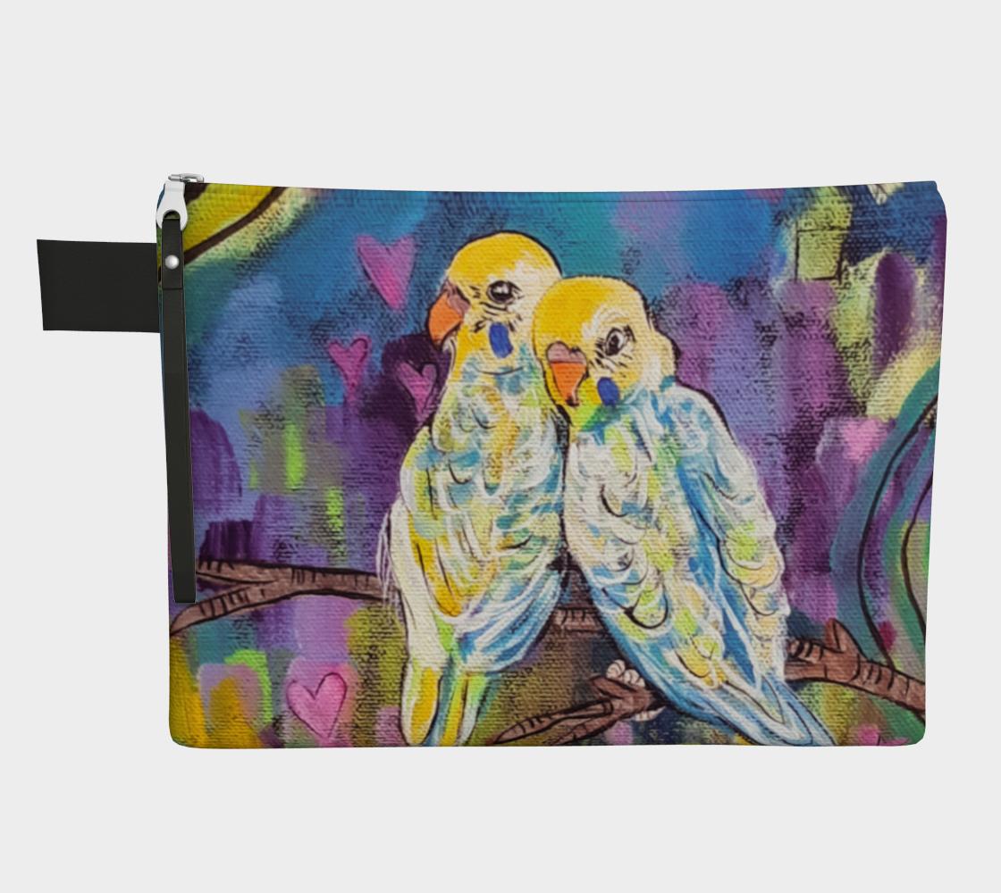 Love Birds Zipper Carry-All preview