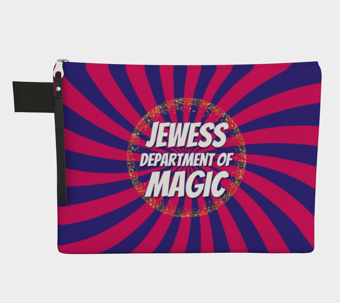 Jewess Department of Magic zipper carry-all bag preview